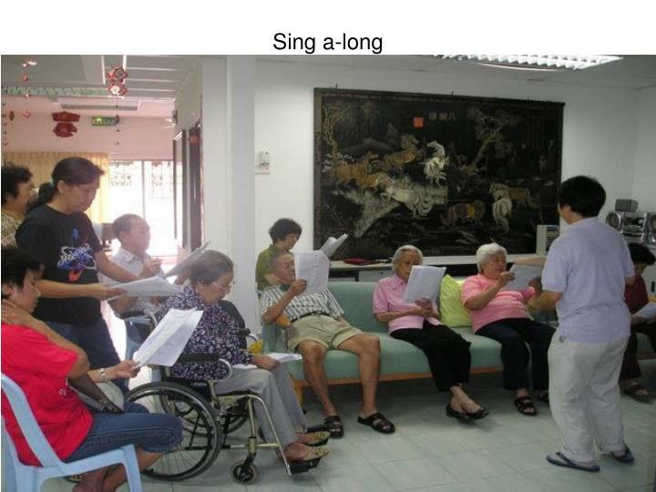 Sing a-long