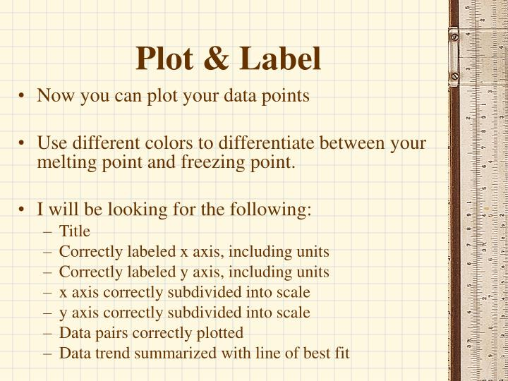 Plot & Label