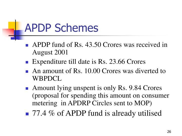 APDP Schemes