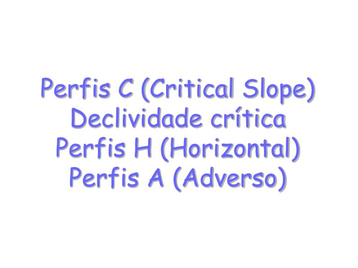 Perfis C (