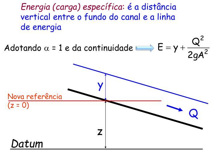 Energia (carga) específica