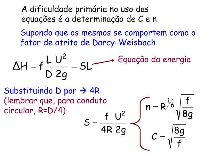 Equação da energia