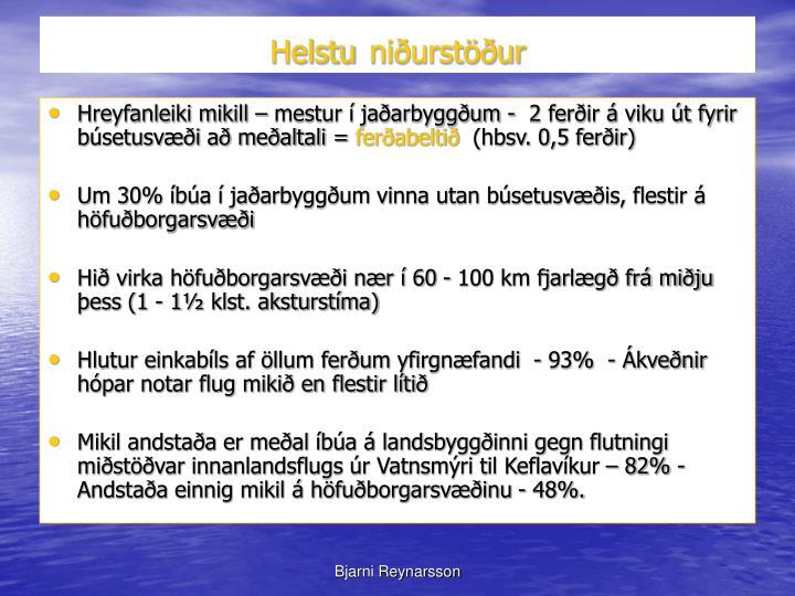 Helstu
