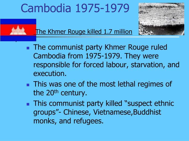 Cambodia 1975-1979