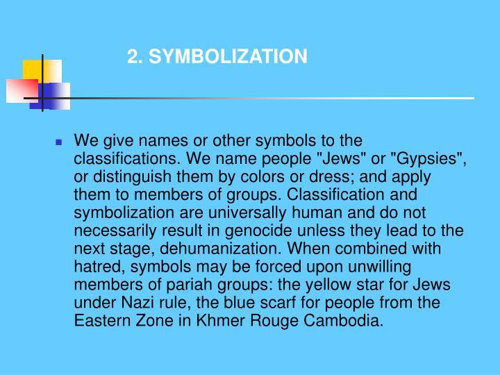 2. SYMBOLIZATION