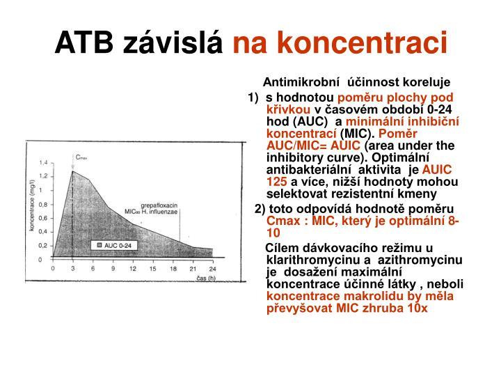 ATB závislá
