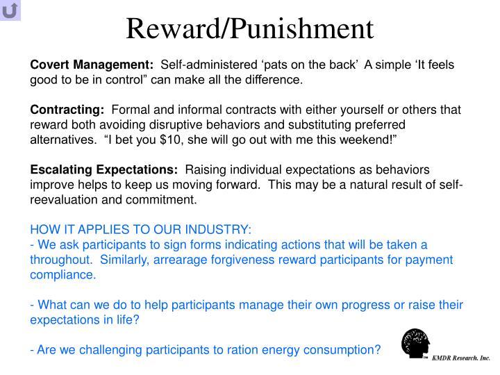 Reward/Punishment