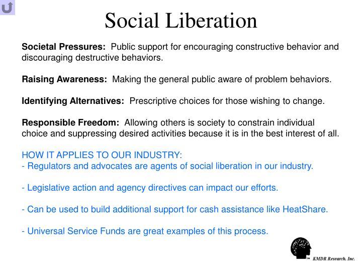 Social Liberation
