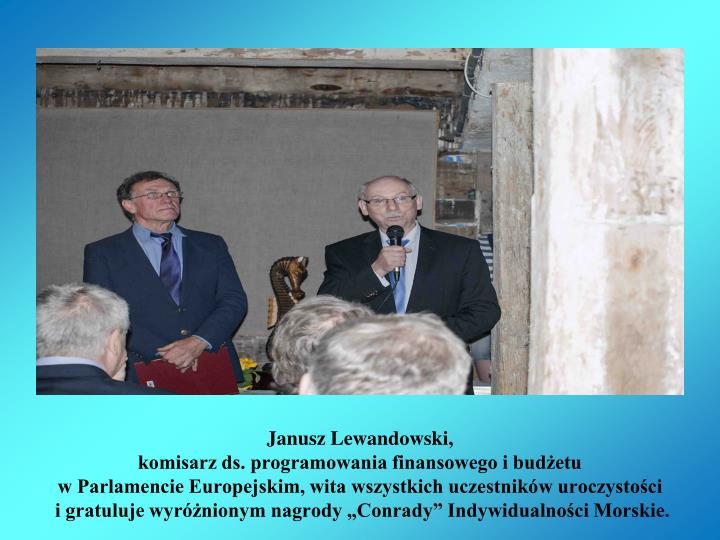 Janusz Lewandowski,