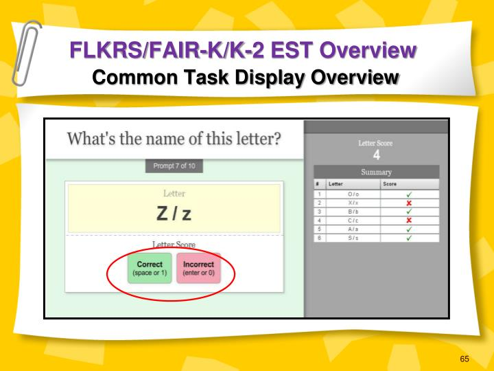 FLKRS/FAIR-K/K-2 EST Overview