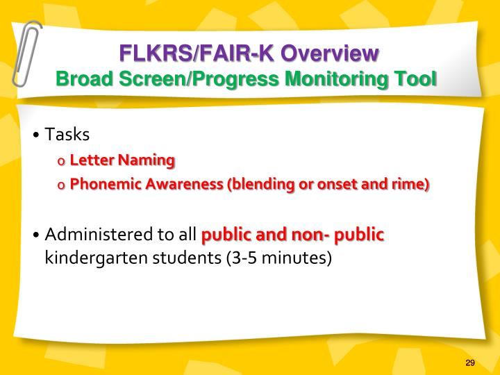 FLKRS/FAIR-K Overview