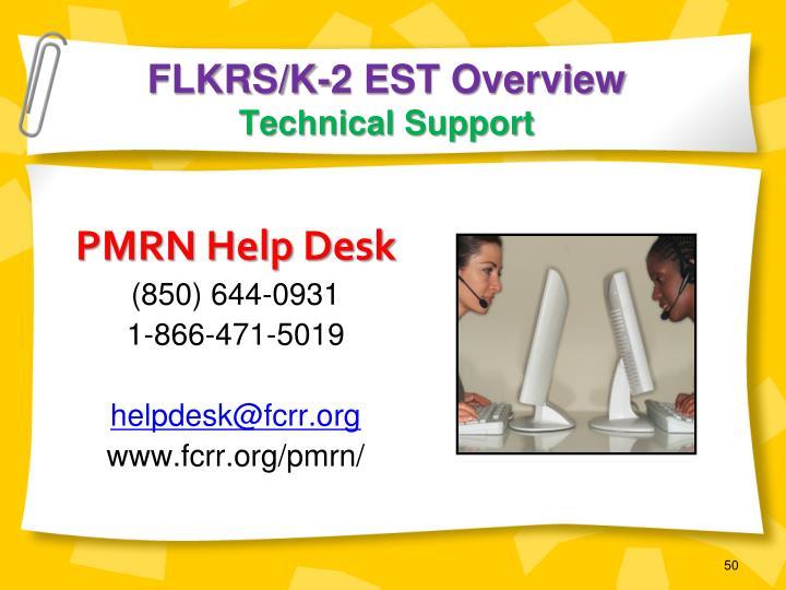 FLKRS/K-2 EST Overview