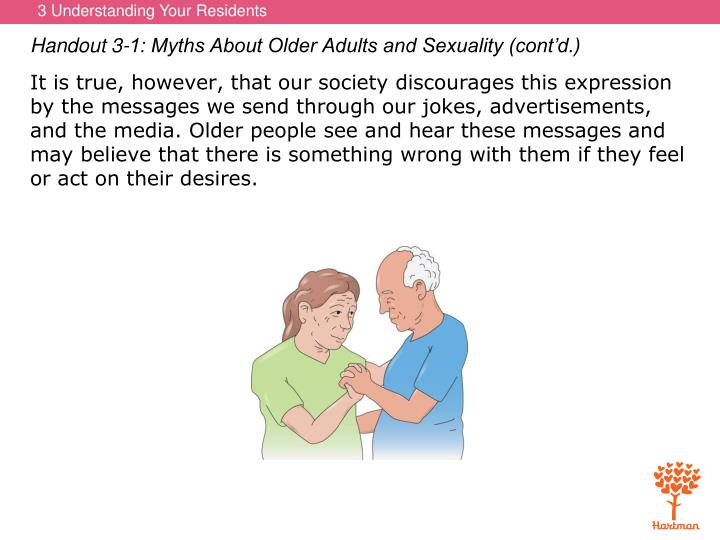 Handout 3-1: Myths About Older Adults and Sexuality (cont'd.)
