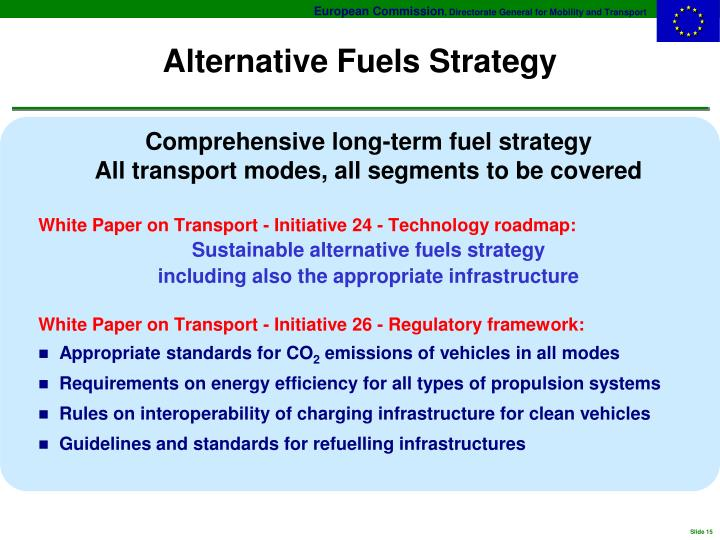 Alternative Fuels Strategy