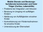 mobile dienste und beratungs fachdienste kommunaler und freier tr ger caritas lebenshilfe