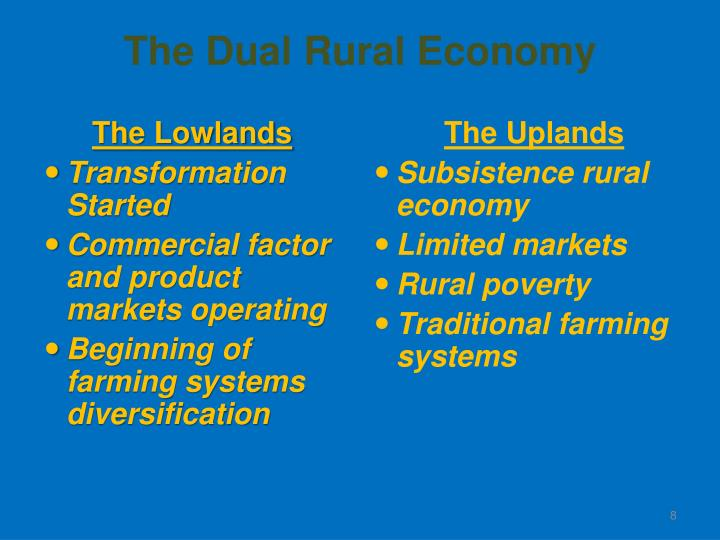 The Dual Rural Economy