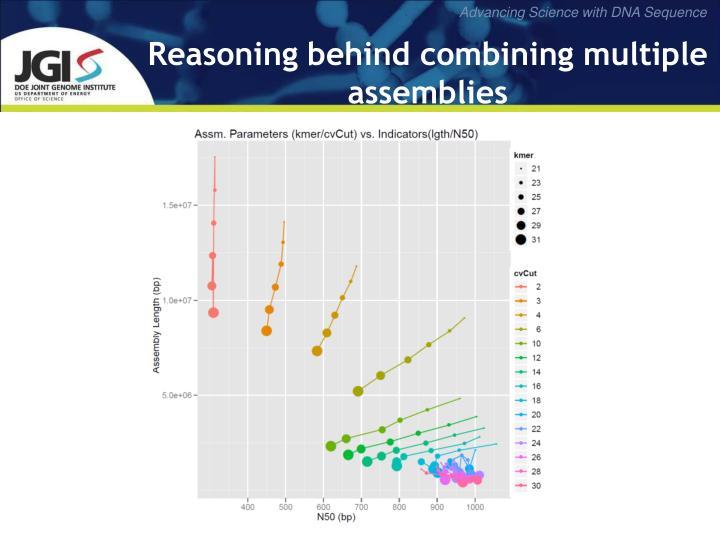 Reasoning behind combining multiple assemblies