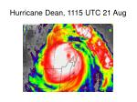 hurricane dean 1115 utc 21 aug