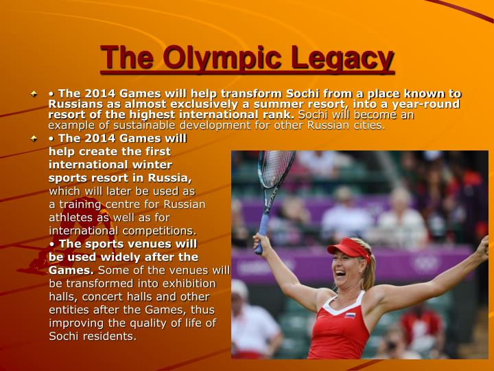 project hosting the olympic games essay