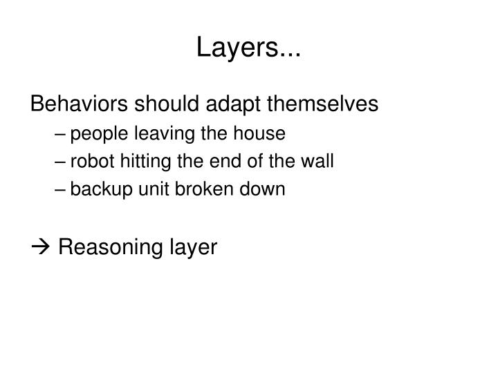 Layers...