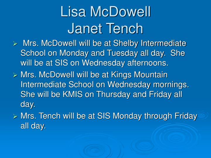Lisa McDowell