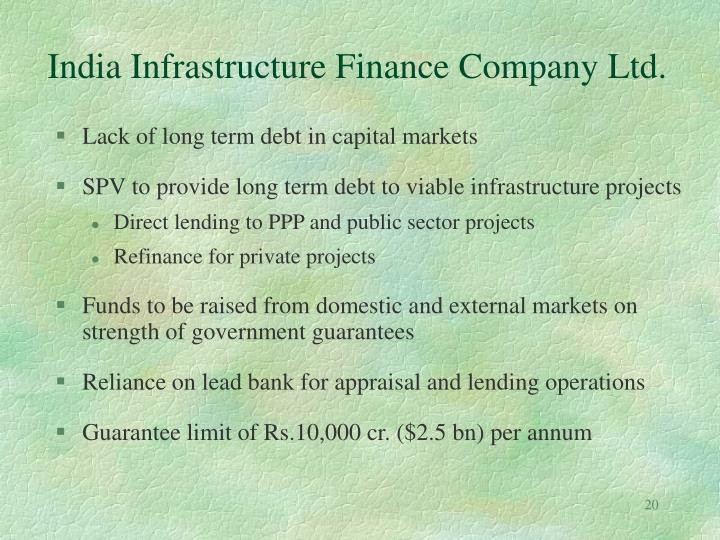 India Infrastructure Finance Company Ltd.