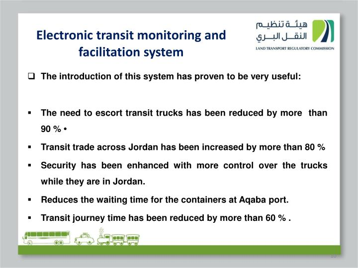 Electronic transit monitoring and facilitation system