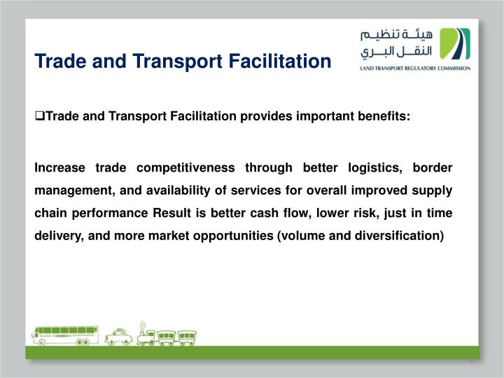 Trade and Transport Facilitation