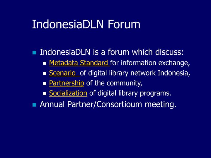 IndonesiaDLN Forum