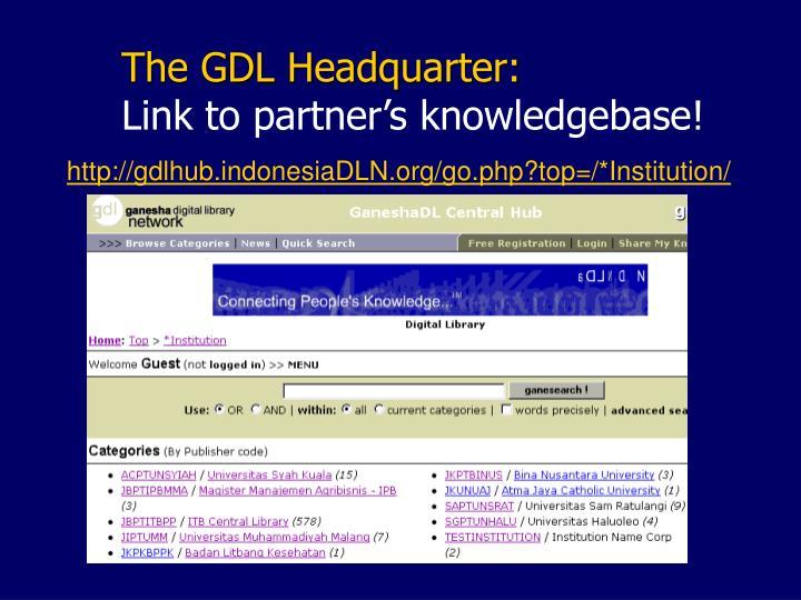 The GDL Headquarter: