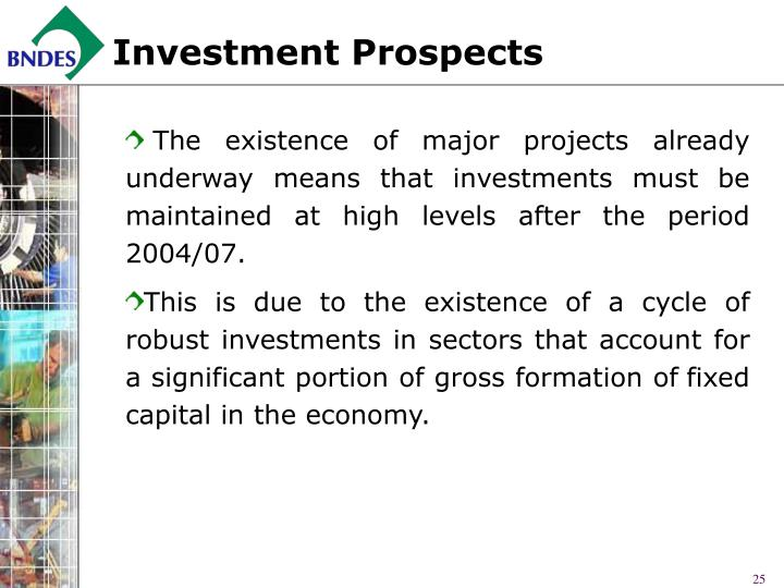 Investment Prospects