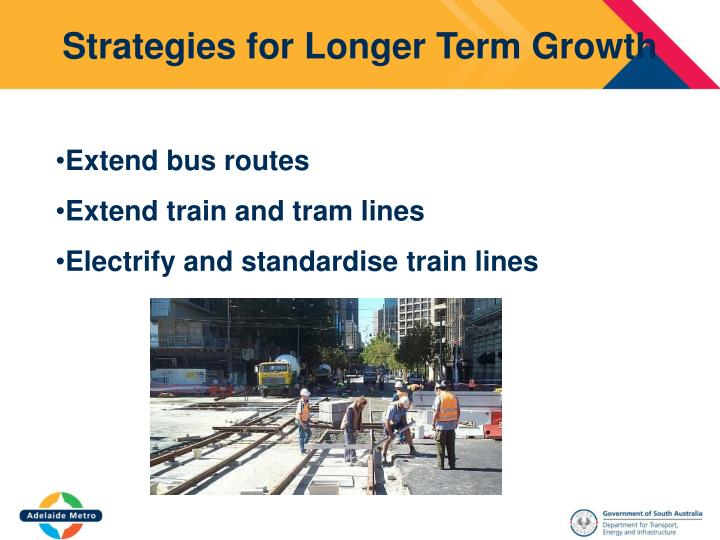 Strategies for Longer Term Growth