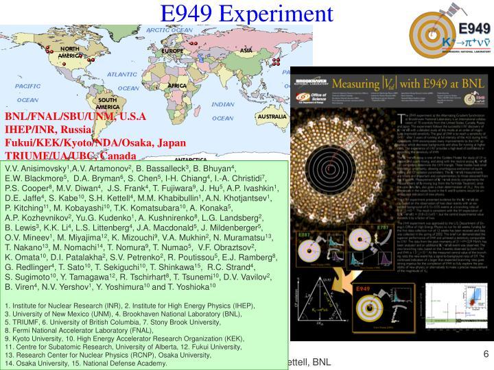 E949 Experiment