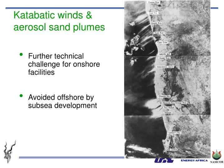 Katabatic winds &