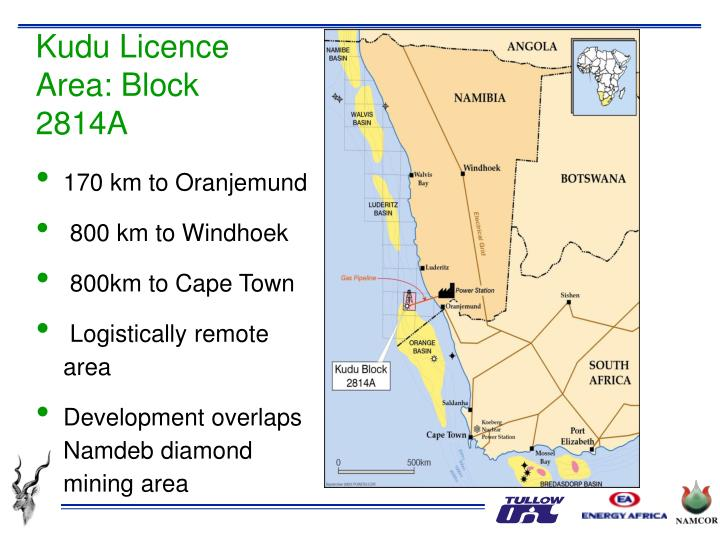 Kudu Licence Area: Block 2814A