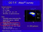 co t f atlas 3d survey