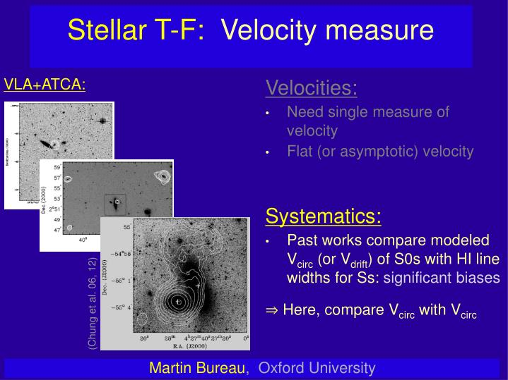 Stellar T-F: