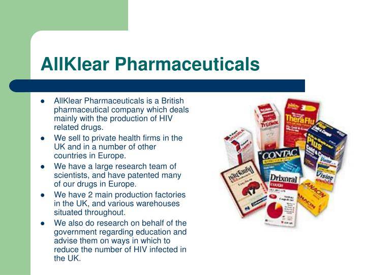 AllKlear Pharmaceuticals