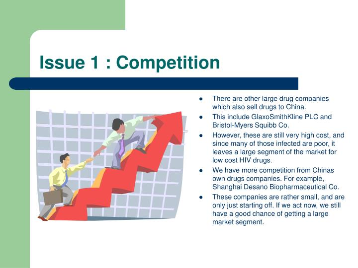 Issue 1 : Competition