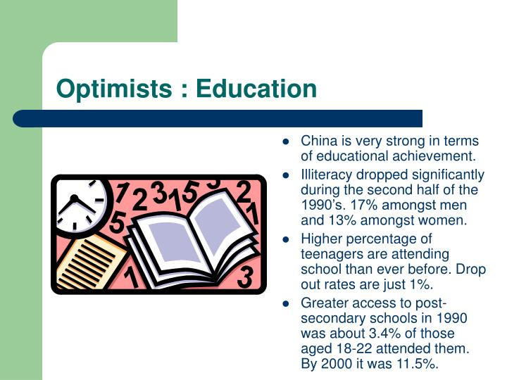 Optimists : Education