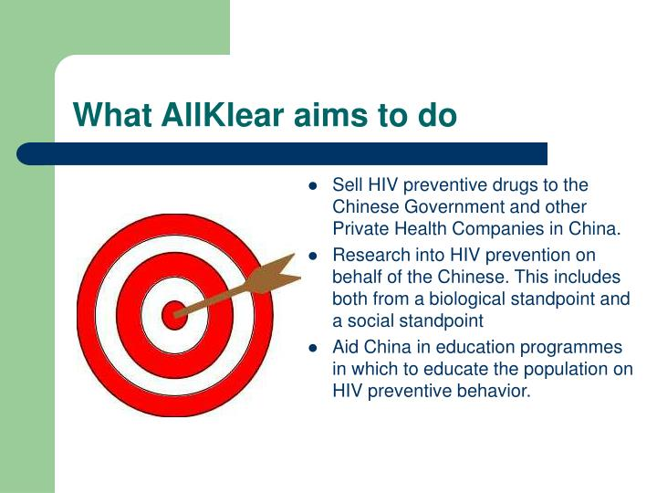 What AllKlear aims to do