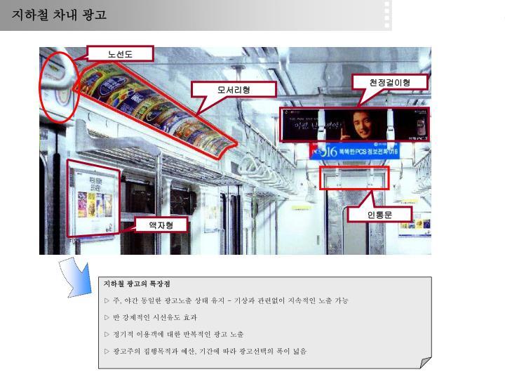 지하철 차내 광고