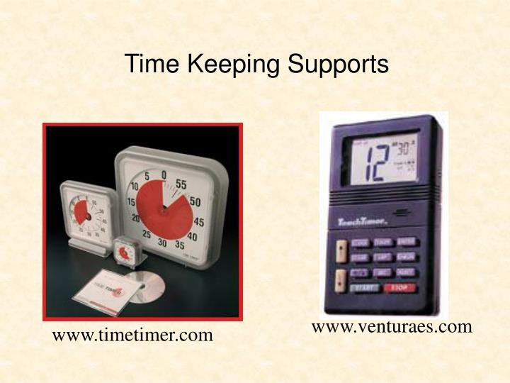 Time Keeping Supports