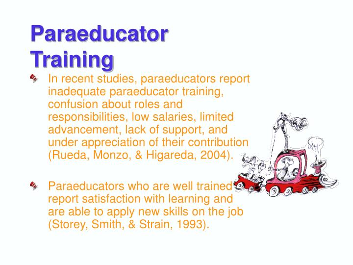 Paraeducator Training