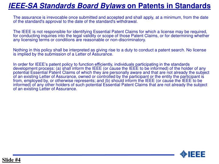IEEE-SA Standards Board Bylaws