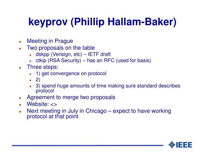 keyprov (Phillip Hallam-Baker)