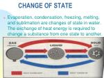 change of state1