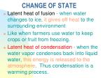 change of state3