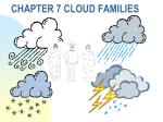chapter 7 cloud families