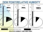 dew point relative humidity